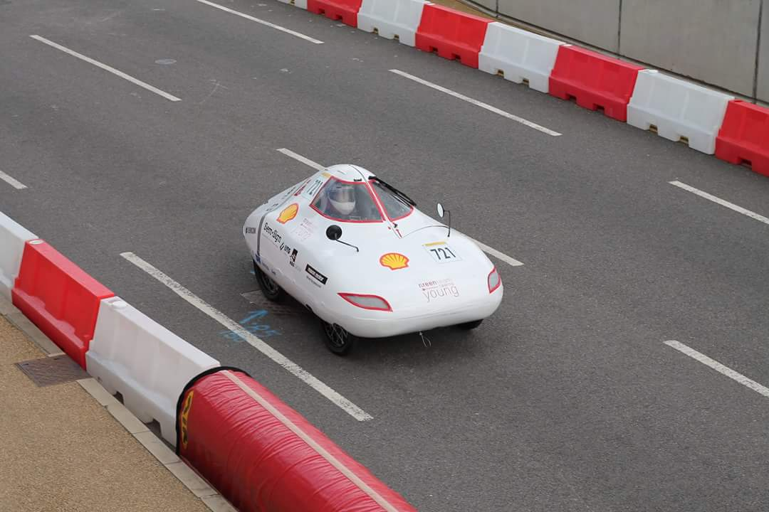 Green Team Twente Young | Shell Eco Marathon op het circuit